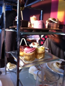 Afternoon tea at the Hilton, Park Lane