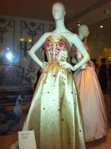 V&A Ballgowns exhibition