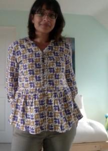 Orla Kiely A/W 2012 shirt