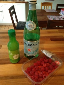 San Pellegrino and lime: 5 to 2 diet